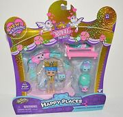 Shopkins Happy Places Charming Wedding Arch Royal Friends Will Hugh Play Set Toy