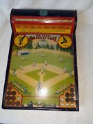Antique - The Great American Game Base Ball By Hustler Toy C0.. - Circa 1929