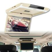 12.5in 1080p Car Mount Screen Roof Ceiling Monitor Flip Down Lcd With Wifi / Hdm