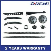 Timing Chain Kit Phaser Fit For 04-08 Ford F150 F250 Lincoln Triton 3-valve 5.4l