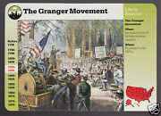 The Granger Movement Farmers Winchester Il 1995 Grolier Story Of America Card