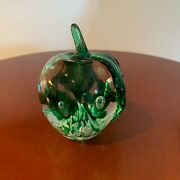 Beautiful Gibson Apple Paperweight