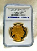 2009 W American .9999 Gold Buffalo Proof 1 Oz 50 Ngc Pf69 Ucam Early Releases
