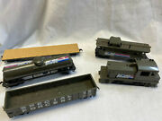 Tyco G.i Joe Train Cars Ho Scale Special Forces Engine Caboose Tanker Flat Car