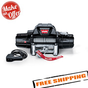 Warn 88980 Zeon 8 Electric 12v Winch With 100and039 Steel Wire Rope 8000 Lbs.