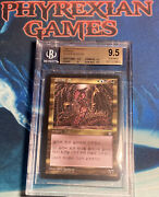 Mtg 1x Korean Sliver Queen Bgs 9.5 Pop 1 Stronghold Magic The Gathering Mint