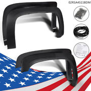 Textured Fender Flares Fit For 07-13 Chevy Silverado 1500 2500hd/3500hd