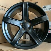 20'' Hellcat 5 Hc2 Black Wheels Toyo Tires Charger Magnum Challenger Staggered