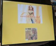 Carrie Underwood Autograph Signed Some Hearts Cd Booklet 16x20 Frame Display