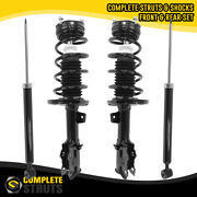 2011-2013 Ford Fiesta Front Complete Strut Assemblies And Rear Shock Absorbers