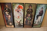 Haunted Mansion Stretching Portraits Canvas Prints 6x18 Or Bigger