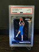 2018 Panini Prizm 280 Luka Doncic Rc Rookie Dallas Mavericks Psa 10 Gem Mint