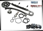 Timing Chain Kit For Nissan Pickup 95-97 Stanza 90-92 D21 90-94 Axxess 1990 2.4l