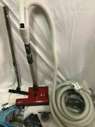 Central Vacuum 30 Foot Hose Accessory Kit Featuring Sebo Et-2 Hard Fl And Carpet