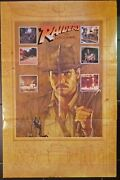 Indiana Jones Raiders Of The Lost Ark Rare Promotional Previous Poster 2197