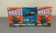 Vintage 2003 Package 2 Sealed Boxes Tiger Woods Wheaties W/2x Golf Balls Buick