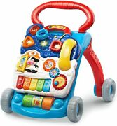 Vtech Sit-to-stand Learning Walker Frustration Free Packaging Blue By Vtech