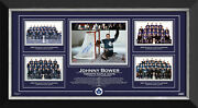 Johnny Bower Stanley Cup 1962, 63, 64 And 67, Ltd Ed 62/67 - Toronto Maple Leafs