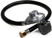 Propane Gas Grill Hose And Regulator For Weber Genesis Series 2ft