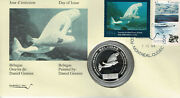 1994 Quebec Wildlife Habitat Stamp Qw7 First Day Cover Fdc + Silver Coin