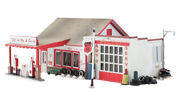 N Scale - Fill'er Up And Fix'er, Factory Built- Woo-br4922