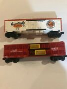Lot Qty 2 Lionel Eventually Gold Medal Flour Billboard And The Katy 9707 Oscale