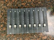 Solid State Logic Ssl Console Mixer C100 Hds 8 Channel Moving Fader Bank Pack