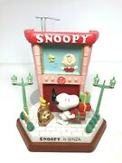 Peanuts Snoopy In Ginza Limited Edition Statue Woodstock