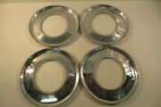 15 Beauty Rings Hubcaps 1940and039s 1950and039s Chevy Ford Buick Chrysler Mopar Accessory