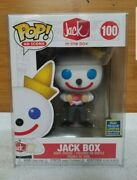 Funko Pop Ad Icons Jack In The Box Sdcc 2020 Shared Exclusive Read Description