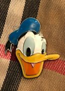Disney Parks Donald Duck Face Acrylic Metal Magnet Brand New