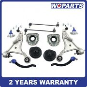 Front Control Arm Ball Joint Tie Rod Strut Mount Sway Bar Link Fit For Volvo S80
