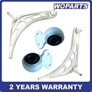 4x Front Lower Control Arm W/bushing Ball Joint Set Fit For Bmw 3 Series E46 2wd