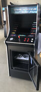 Full Size Stand Up Arcade Machine 412 Games 19 Lcd W/ Built In Refrigerator