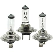 Set Of 3 Headlight Bulbs Lamps Left-and-right For Chevy Mercedes Series 318 320