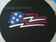 Spare Tire Cover American Flag Fit For Jeep Wrangler 17 Inch 17 Size Xl Wheel