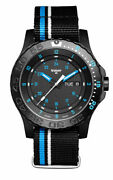 Traser H3 P66 Blue Infinity Watch Art.4155 5/16-1 25/32in - 20 Atm - Fabric Band