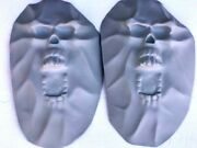 Skulls 3d 2 Fiberglass To Customize Motorcycle Saddle Bags Or Any Bike Surface 3
