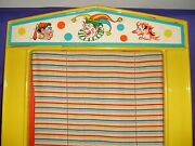 Childand039s Puppet Stage W/ Two-sided Background And Curtain 1960s West Germany