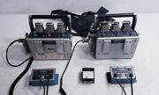 Robinson Crane Boss 300 Type 400-72 2total 2 Battery Chargers And 3 Batteries