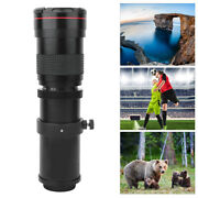 420-800mm F/8.3-16 Super Manual Telephoto Zoom Lens For Slr Camera Photography
