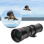 420-800mm F/8.3-16 Super Manual Telephoto Zoom Lens For Camera Photography