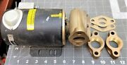 24 Volt 5.3 Amp Brass Water Circulation Pump 3000 Rpm New Military Issue [z2s4]