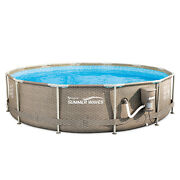 Summer Waves Active 12ft X 30in Above Ground Frame Pool With Filter Open Box