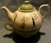 Portmeirion A Fine Romance Individual Teapot And Cup New In Box