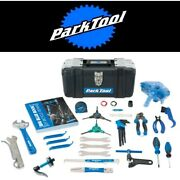 Park Tool Ak-5 Advanced Mechanic Bicycle Tool Kit 25+ Pieces With Portable Box