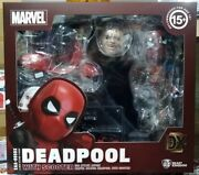 Beast Kingdom Egg Attack Eaa-065dx Deadpool With Scooter Dx Ver. Figure In Stock