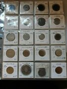Binder Of 120 Assorted Misc. World Coins 1867-1967 Free Shipping