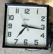 Vintage Sessions Electric Manual Wall Clock