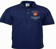 Coast Guard Station Fort Myers Beach Fl Embroidered Polo Shirt/crewneck/t-shirt